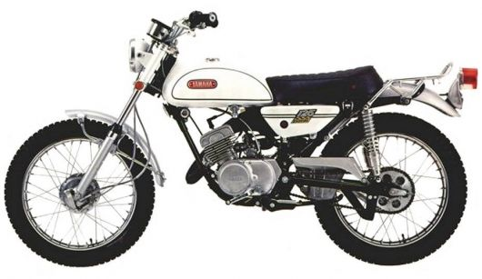 yamaha 125 at1 1971