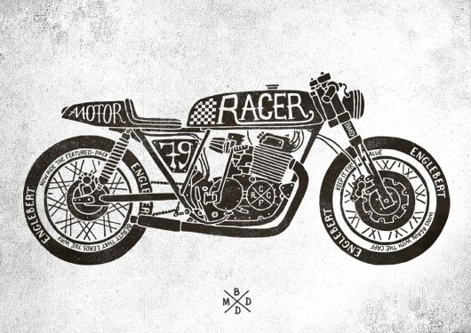 bmd cafe racer motorcycle