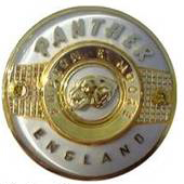 panther badge white