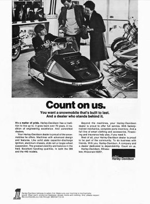 hd snowmobile ad 71
